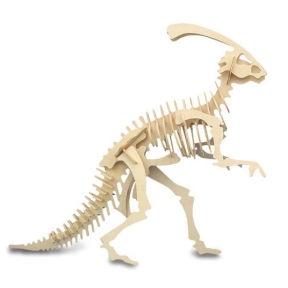 Parasaurolophus Woodcraft Construction Kit