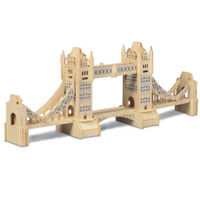 Tower Bridge Woodcraft Construction Kit