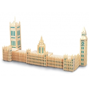 Houses of Parliament Woodcraft Construction Kit