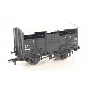 Bachmann 37-711 OO Gauge 8 Ton Cattle Wagon GWR Grey