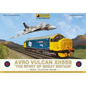 Graham Farish 370-375 Avro Vulcan XH558 Collectors Pack