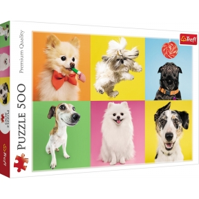 Dogs 500 Piece Puzzle