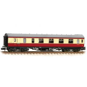 Graham Farish 374-831C N Gauge Stanier Brake First BR Crimson & Cream