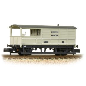 Graham Farish 377-376B GWR 20T 'Toad' Brake Van BR Grey Early