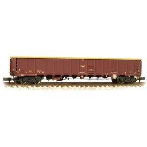 Graham Farish 377-651A MBA MegaBox High Sided Wagon (No Buffers) EWS Weathered