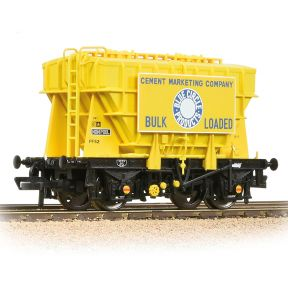 Bachmann 38-273 BR 22T 'Presflo' Cement Wagon 'Blue Circle Cement' Yellow