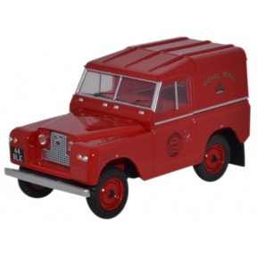 Oxford Diecast Land Rover Series II SWB Hard Top Royal Mail
