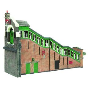 Bachmann 44-119A Great Central High Level Station Entrance GCR Green & Cream