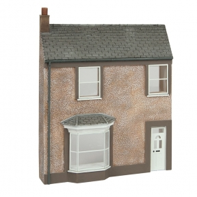 Bachmann 44-0203 Low Relief Pebble Dash Terrace House