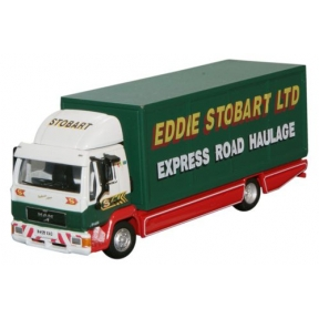 Atlas Editions OO Gauge Eddie Stobart Man L2000 Box Lorry F1459 Valarie Ann