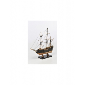 1/135 Pirate Ship Wooden Kit