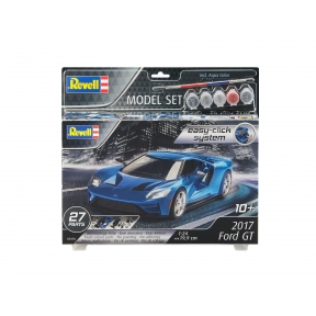 Revell 67678 2017 Ford GT Easy Click Kit Model Set