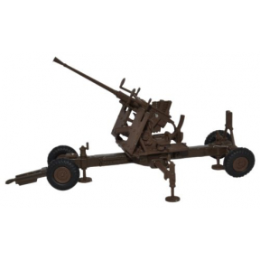 Oxford Diecast Brown 40MM Bofors Gun