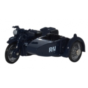 Motorbike & Sidecar Royal Navy