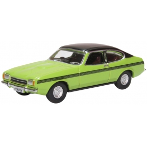 Oxford Diecast Ford Capri Mk.II Lime Green (Only Fools & Horses)