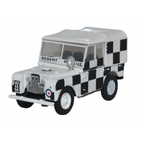 Oxford Diecast OO Gauge Land Rover Series I 80 Canvas