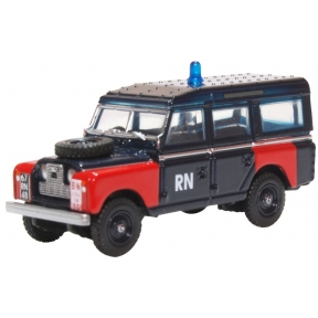 Oxford Diecast Land Rover Series II LWB Station Wagon Royal Navy
