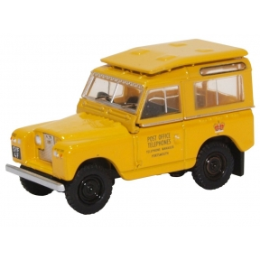 Oxford Diecast Land Rover Series II SWB Post Office Telephones (Ye