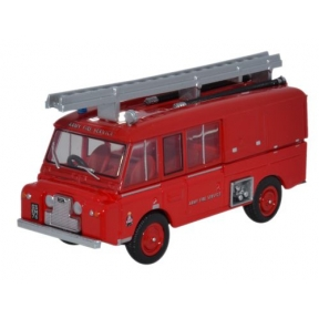 Oxford Diecast Land Rover FT6 Carmichael Army Fire Service