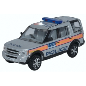 Oxford Diecast Land Rover Discovery 3 Metropolitan Police
