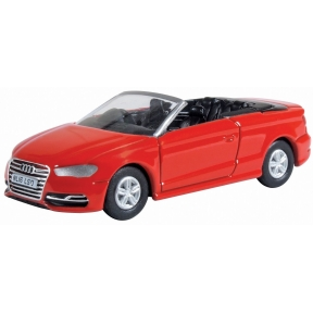 Oxford Diecast Misano Red Audi S3 Cabriolet
