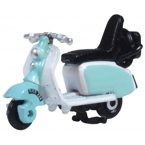 Oxford Diecast Scooter  Blue/White