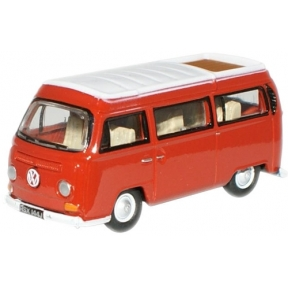 Oxford Diecast Senegal Red/White VW Camper