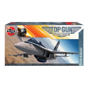 Airfix A00504 Top Gun Mavericks F-18 Hornet Plastic Kit