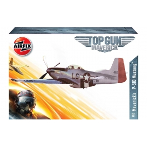 Airfix A00505 Top Gun Mavericks P-51D Mustang Plastic Kit