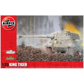 Airfix A1369 King Tiger Plastic Kit