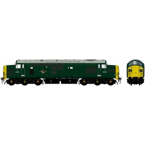 Class 37/0 D6704 BR Green Full Yellow Ends DCC Sound