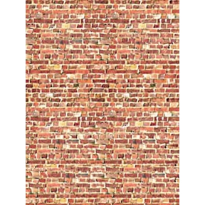 ID Backscenes DM08A Light Red Brick Building Papers