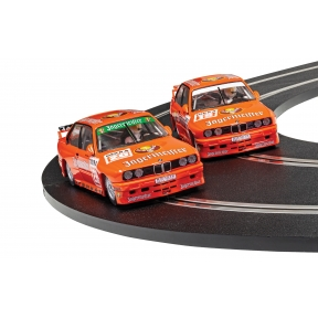 Scalextric C4110A BMW E30 M3 Team Jagermeister Twin Pack