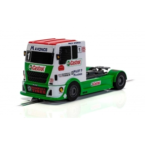 Scalextric C4156 Racing Truck Red & Green & White