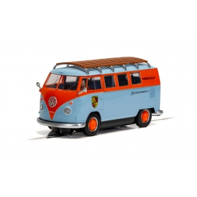 Scalextric C4217 VW T1b Microbus ROFGO Gulf Collection JW Automotive