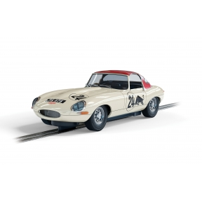 Scalextric C4232 Jaguar E-Type Goodwood Revival Adrian Newey