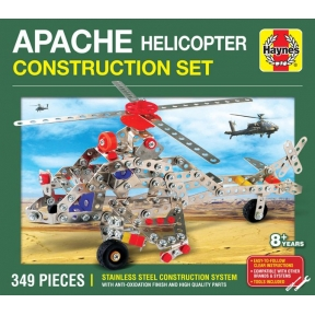 Haynes DEM0905 Apache helicopter Metal Construction Set