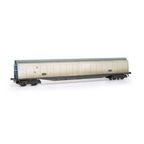 EFE Rail E87009 OO Gauge Cargowaggon 279-7-604-6 Silver & Blue Unbranded Weathered