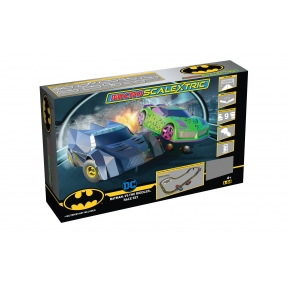 Scalextric G1170 Micro Scalextric Batman vs The Riddler Set Battery Powered Race Set