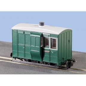 Peco GR-535 OO-9 Freelance Brake Coach with Buffers