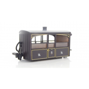 Peco GR-560 OO-9 Ffestiniog Bug Box Observation Coach No.1 Purple & Brown