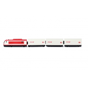 Lima Junior HL1243 HO Treno Merci Battery Operated Train Set
