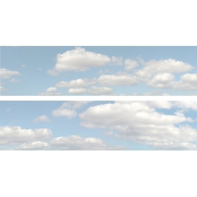 ID Backscenes ID501A 15 Inch Backscene Summer Sky Set A