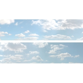 ID Backscenes ID501B 15 Inch Backscene Summer Sky Set B