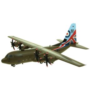 In Flight IFCLEV130883 Lockheed C130 Hercules RAF ZH883 50 Years Limited Edition