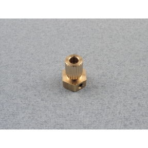 Brass Universal Coupling 4mm