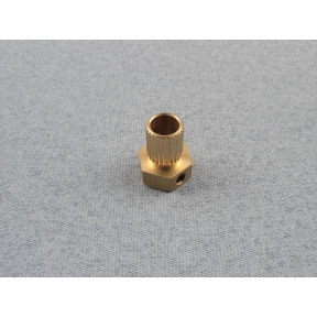 Brass Universal Coupling 6mm