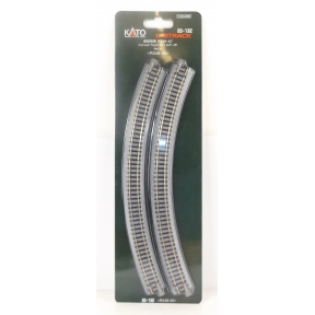 Kato N Gauge Unitrack (R348-45) Curved Track 45 Degree (Pack Of 4)