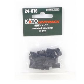 Kato N Gauge Unitrack Insulated UniJoiners (Pack Of 20)