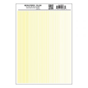 Woodland Scenics MG763 Yellow Stripe Decals